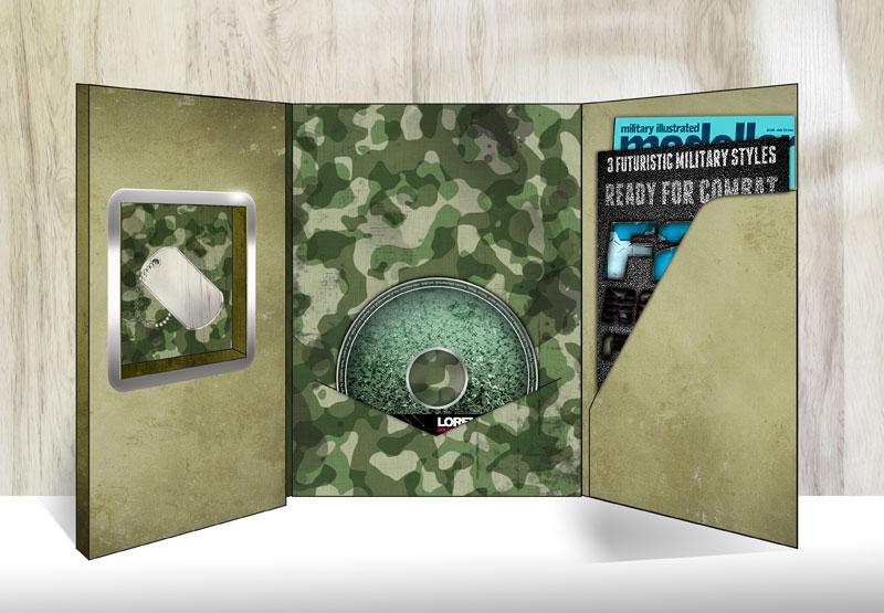 CD con libro e gadget